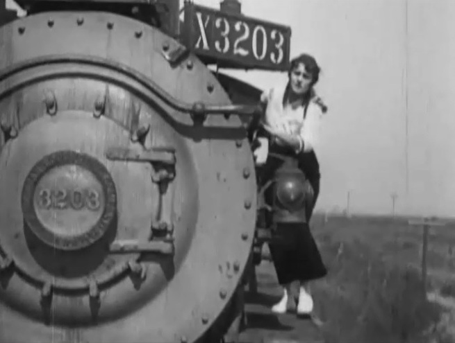 Gibson in The Wrong Train Order (1915) (Silent Hall of Fame)