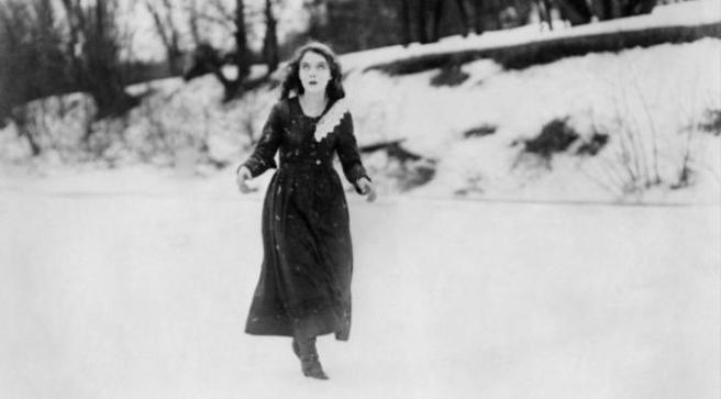 Gish in Way Down East (1920) (Pinterest)