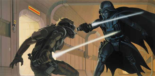 McQuarrie Darth Vader Concept (Cnet)